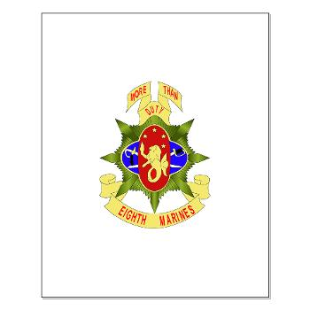 8MR - M01 - 02 - 8th Marine Regiment - Small Poster