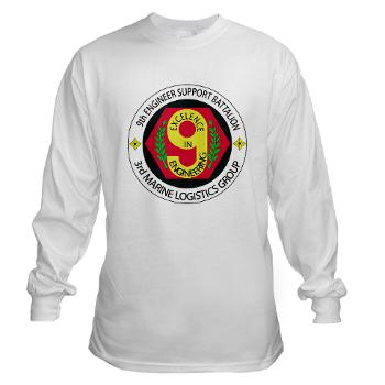 9ESB - A01 - 03 - 9th Engineer Support Battalion Long Sleeve T-Shirt