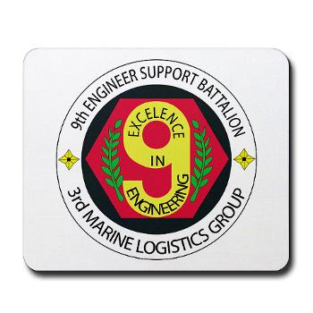 9ESB - M01 - 03 - 9th Engineer Support Battalion Mousepad