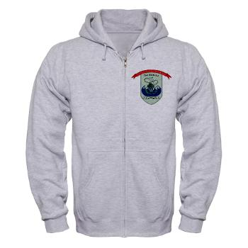 AAVC - A01 - 03 - Assault Amphibian Vehicle Company Zip Hoodie