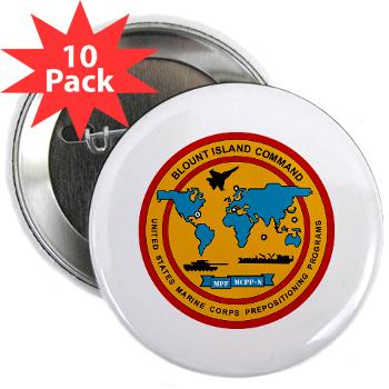 "BIC - M01 - 01 - Blount Island Command - 2.25"" Button (10 pack)"