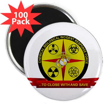 "CBIRF - M01 - 01 - Chemical Biological Incident Response Force - 2.25"" Magnet (100 pack)"