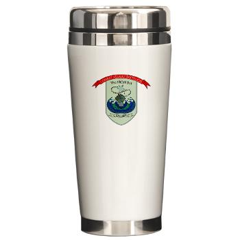 CEC - A01 - 01 - Combat Engineer Company - Ceramic Travel Mug