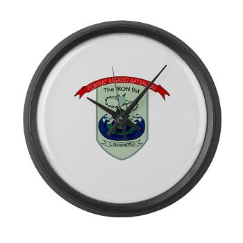 CEC - A01 - 01 - Combat Engineer Company - Large Wall Clock