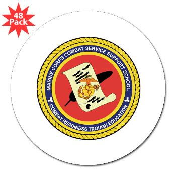 "CGilbertHJohnson - M01 - 01 - Camp Gilbert H. Johnson - 3""Lapel Sticker (48 pk)"