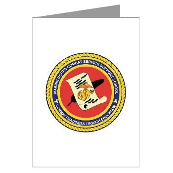 CGilbertHJohnson - M01 - 02 - Camp Gilbert H. Johnson - Greeting Cards (Pk of 10)