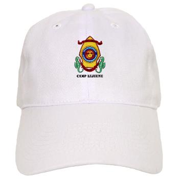 CL - A01 - 01 - Marine Corps Base Camp Lejeune with Text - Cap