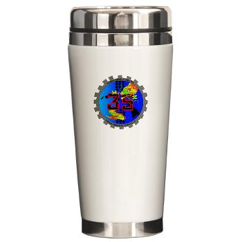 CLC35 - M01 - 03 - Combat Logistics Company 35 - Ceramic Travel Mug