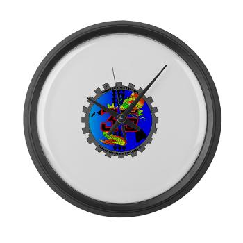 CLC35 - M01 - 03 - Combat Logistics Company 35 - Large Wall Clock