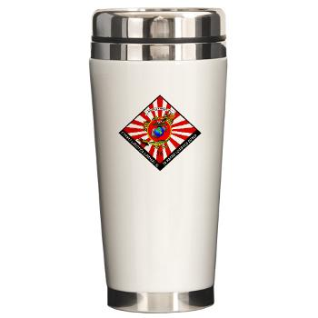 CLC36 - M01 - 03 - Combat Logistics Company 36 Ceramic Travel Mug