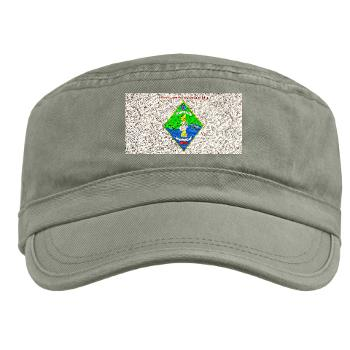CLR1 - A01 - 01 - Combat Logistics Regiment 1 with text - Military Cap