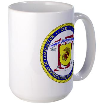 CLR17 - M01 - 03 - Combat Logistics Regiment 17 - Large Mug