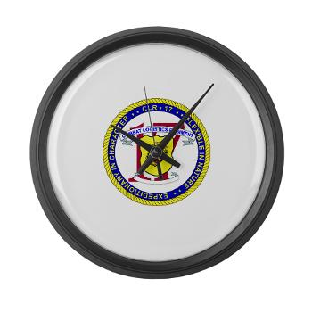 CLR17 - M01 - 03 - Combat Logistics Regiment 17 - Large Wall Clock