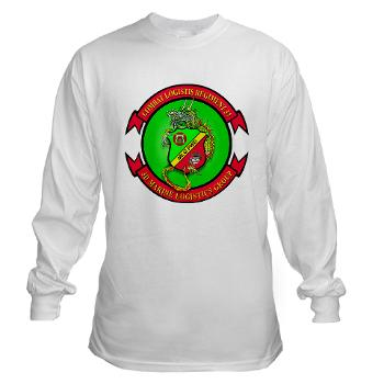 CLR37 - A01 - 03 - Combat Logistics Regiment 37 - Long Sleeve T-Shirt
