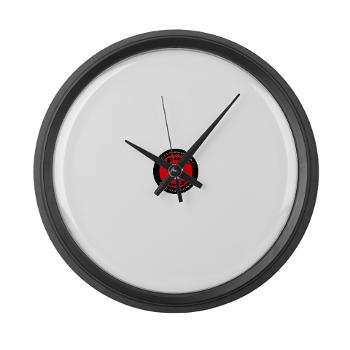CSSG1 - M01 - 03 - Combat Service Support Group - 1 - Large Wall Clock