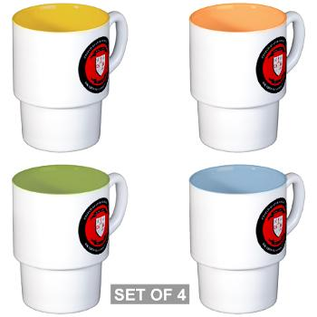CSSG1 - M01 - 03 - Combat Service Support Group - 1 - Stackable Mug Set (4 mugs)