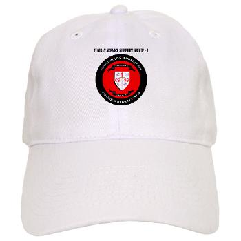 CSSG1 - A01 - 01 - Combat Service Support Group - 1 with Text - Cap