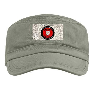 CSSG1 - A01 - 01 - Combat Service Support Group - 1 with Text - Military Cap