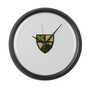 CampAllen - M01 - 03 - Camp Allen - Large Wall Clock