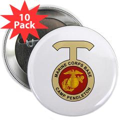 "CP - M01 - 01 - Camp Pendleton - 2.25"" Button (10 pack)"