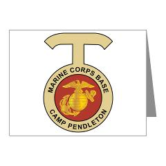 CP - M01 - 02 - Camp Pendleton - Note Cards (Pk of 20)