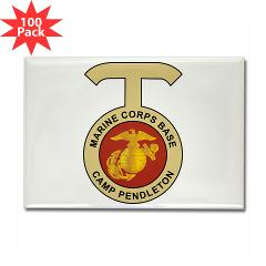 CP - M01 - 01 - Camp Pendleton - Rectangle Magnet (100 pack)