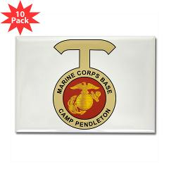 CP - M01 - 01 - Camp Pendleton - Rectangle Magnet (10 pack)