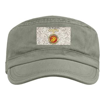 CP - A01 - 01 - Camp Pendleton with Text - Military Cap
