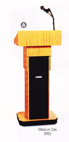 Executive Adjustable Sound Column Lectern