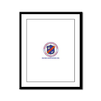 FMTB - M01 - 02 - Field Medical Training Battalion (FMTB) with Text - Framed Panel Print