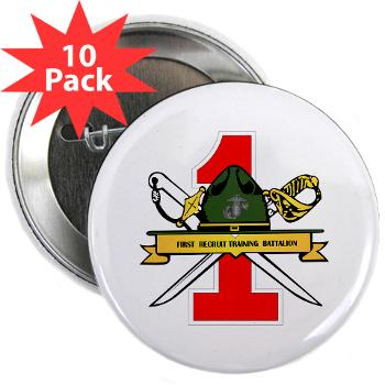"FRTB - M01 - 01 - First Recruit Training Battalion - 2.25"" Button (10 pack)"