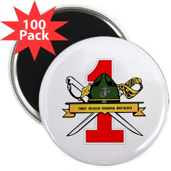 "FRTB - M01 - 01 - First Recruit Training Battalion - 2.25"" Magnet (100 pack)"