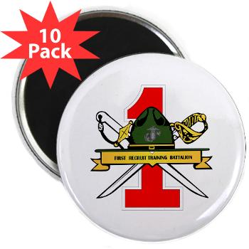 "FRTB - M01 - 01 - First Recruit Training Battalion - 2.25"" Magnet (10 pack)"