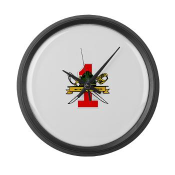 FRTB - M01 - 03 - First Recruit Training Battalion - Large Wall Clock