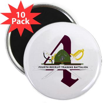 "FRTB - M01 - 01 - Fourth Recruit Training Battalion - 2.25"" Magnet (10 pack)"