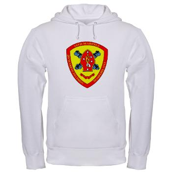 HB10M - A01 - 03 - Headquarters Battery 10th Marines - Hooded Sweatshirt