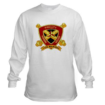 HB12M - A01 - 03 - Headquarters Battery 12th Marines Long Sleeve T-Shirt