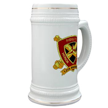 HB12M - M01 - 03 - Headquarters Battery 12th Marines Stein