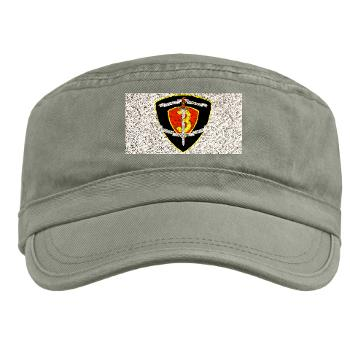 HC3M - A01 - 01 - Headquarters Company 3rd Marines Military Cap