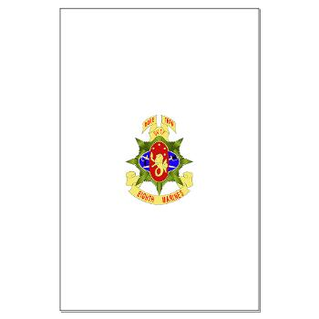 HC8M - M01 - 02 - Headquarters Company 8th Marines - Large Poster