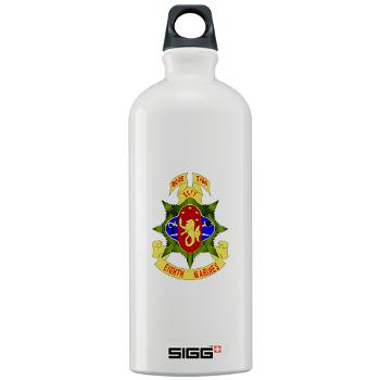 HC8M - M01 - 03 - Headquarters Company 8th Marines - Sigg Water Bottle 1.0L