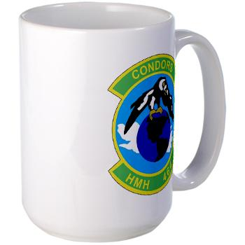 HHS464 - M01 - 03 - SSI - Heavy Helicopter Squadron 464 Large Mug