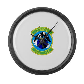 HHS464 - M01 - 03 - SSI - Heavy Helicopter Squadron 464 Large Wall Clock