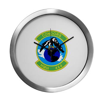 HHS464 - M01 - 03 - SSI - Heavy Helicopter Squadron 464 Modern Wall Clock
