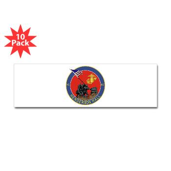 HH - M01 - 01 - Henderson Hall - Sticker (Bumper 10 pk)