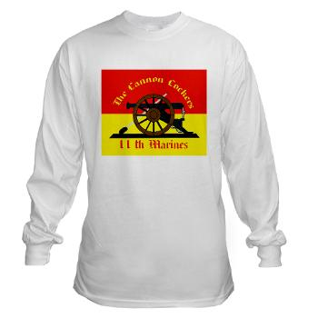 HQC11M - A01 - 03 - HQ Coy - 11th Marines Long Sleeve T-Shirt