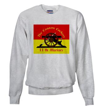 HQC11M - A01 - 03 - HQ Coy - 11th Marines Sweatshirt