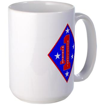HQC1MR - M01 - 03 - HQ Coy - 1st Marine Regiment - Large Mug