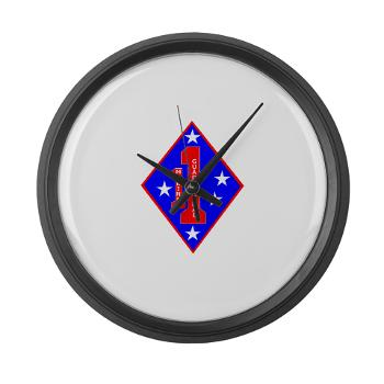 HQC1MR - M01 - 03 - HQ Coy - 1st Marine Regiment - Large Wall Clock