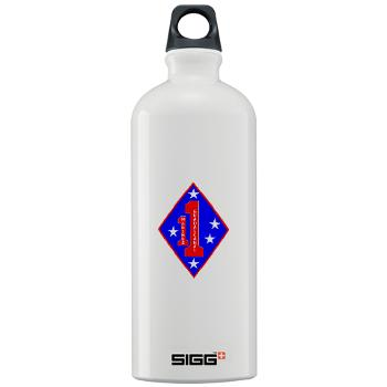 HQC1MR - M01 - 03 - HQ Coy - 1st Marine Regiment - Sigg Water Bottle 1.0L